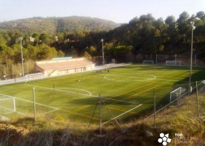 Asesoramiento construcción campo de fútbol municipal – Olivella