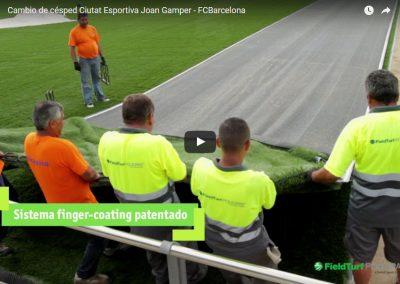Asesoramiento cambio de césped de la Ciudad Deportiva – FCB