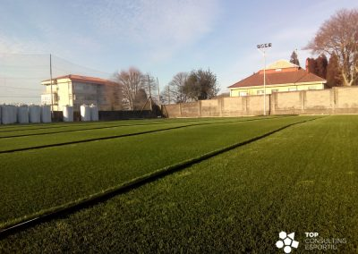 Asesoramiento construcción Campo de Fútbol Municipal – O Pote (FENE)