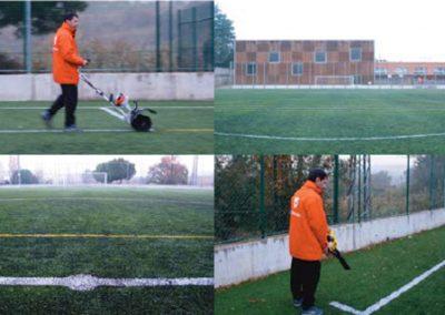 Asesoramiento en la construcción campo de fútbol – Sant Cugat del Vallès