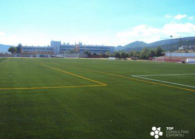 Asesoramiento construcción campo de fútbol municipal – Montblanc