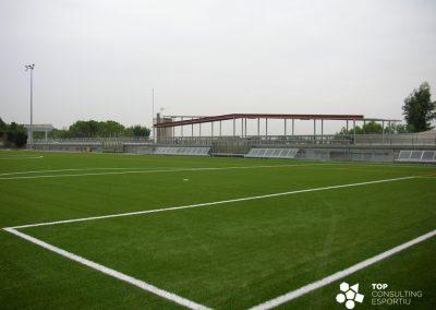 Asesoramiento construcción campo de fútbol municipal – Papiol