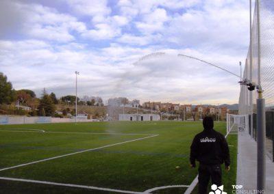 Asesoramiento construcción campo de fútbol municipal – Sant Llorenç d'Hortons