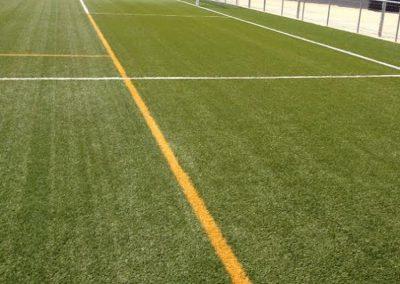 Asesoramiento y mantenimiento del campo de fútbol – Bescanó