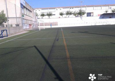 Asesoramiento y mantenimiento del campo de fútbol – Cassà de la Selva