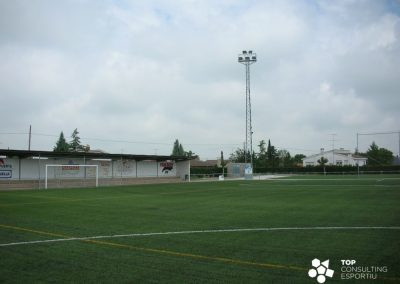 Assessorament en el manteniment del camp de futbol – Guissona