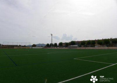 Asesoramiento proyecto campo de fútbol – Santa Coloma de Queralt
