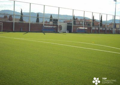 Asesoramiento sustitución del pavimento campo de fútbol – Sant Sadurní d'Anoia