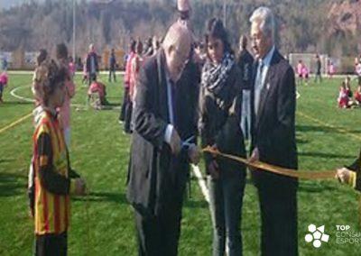 Anteproyecto del Campo de Fútbol Municipal – Callús