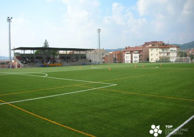 Preparación del concurso de mantenimiento de campos de fútbol – Sant Feliu de Llobregat