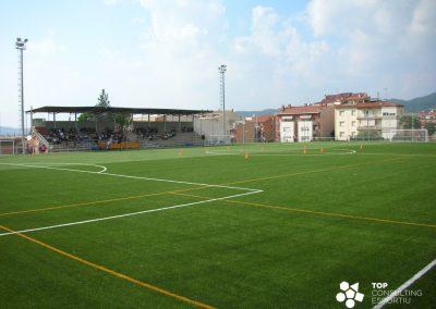 Avantprojecte arquitectònic del camp de futbol – Sallent