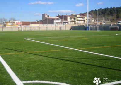 Dirección facultativa del campo de fútbol – Girona