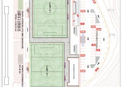Dirección Facultativa pista de atletismo, campos de fútbol 7 y vestuarios – Sant Boi del Llobregat