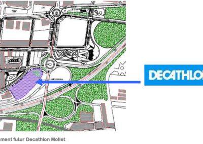 Estudio de viabilidad de la zona deportiva – Decathlon de Mollet