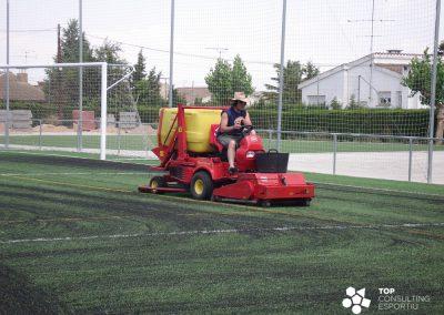Mantenimiento del campo de Fútbol Municipal – Guissona