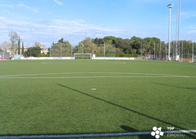 Manteniment camps de futbol de gespa artificial – Girona