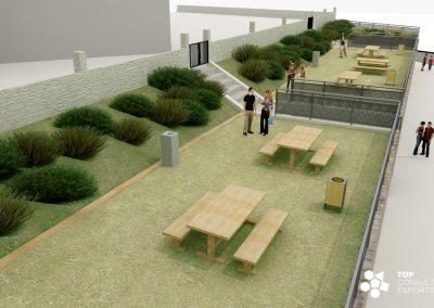 Proyecto de adecuación zonas ajardinadas – Ascó