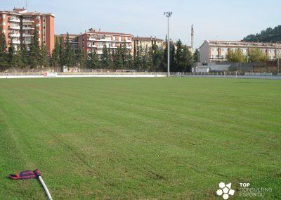 Proyecto del campo de fútbol municipal – Sallent