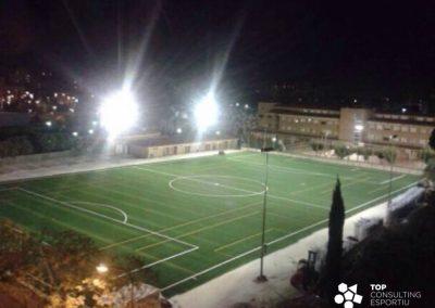 Proyecto campo de fútbol de césped artificial – Reus