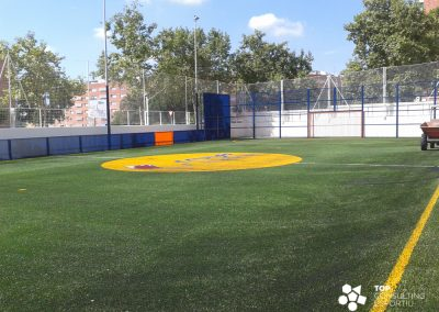 Proyecto Cruyff Court Xavi Hernandez – Terrassa