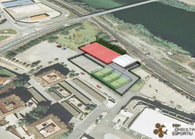 Proyecto ejecutivo de la pista de atletismo – Ascó