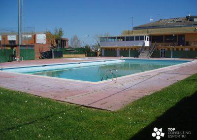 Proyecto impermeabilización piscina municipal – Maçanet