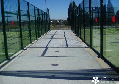 Proyecto de pistas de pádel – Girona