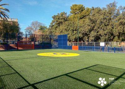 Proyecto y obra Cruyff Court – Esplugues de Llobregat