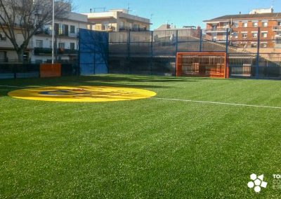 Proyecto y obra Cruyff Court – Sant Pere de Ribes