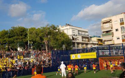 Top Consulting a la inauguració del Cruyff Court de les Roquetes, a Sant Pere de Ribes