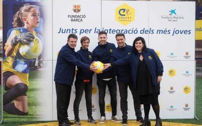 Inauguración Cruyff Court Banyoles, Girona